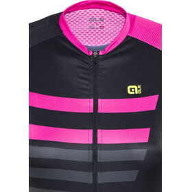 Alé Cycling PRR 2.0 Piuma SS Jersey Women black-fluo pink